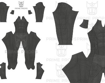 Batman Dawn of Justice Costume Pattern