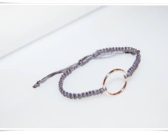 macrame bracelet macrame bracelet Rosé ring