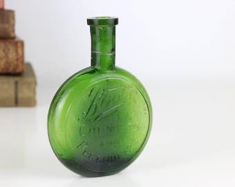 Antique Bottle Boots Chemist Disc bottle