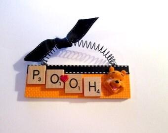 Winnie the Pooh Scrabble Tile Ornament
