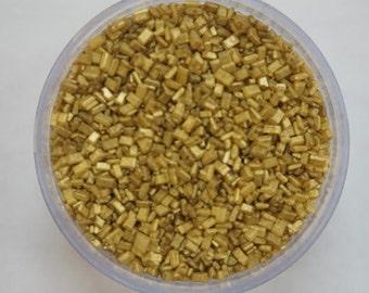 Gold or Silver Sugar Crystals