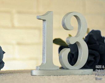 Metallic SET 1-40, Metallic Table Number, Wedding Reception Table