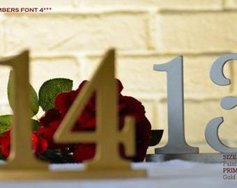 Elegant Table Numbers, Table Numbers Wedding, Table Numbers For Wedding, Table Numbers Gold, Table Numbers Silver, Table Numbers Rustic