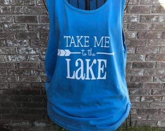 Take Me to the Lake Tank