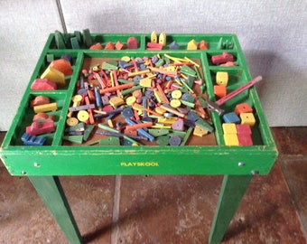 Playskool Activity Table, 1950's
