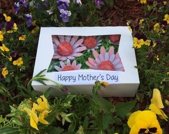 Mother's Day special/ seed bomb box/ gift/ under 20/ fast shipping/ wildflowers/ recycle/ gardening/ organic/ flowers/ mother/ mom