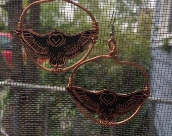 Dancing Owl Earrings