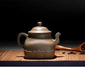 Fo Lian teapot; Premium and Treasure Tea pot, Handmade zisha clay teapot,Guaranteed 100% genuine original mineral fired