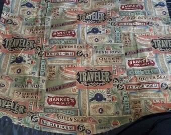 Handmade vintage inspired blanket - nap blanket - kids blanket - daycare blanket - lap blanket - baby shower gift -antique blanket- handmade