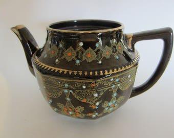 Moriage Teapot Etsy