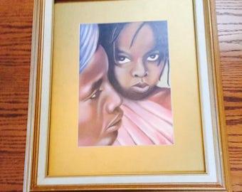 Vintage African-American Artwork by Herschell Turner