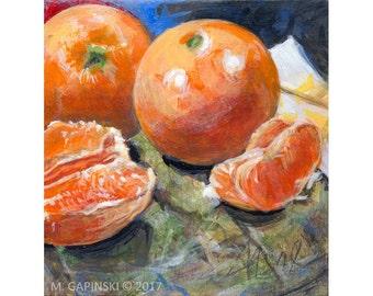 Oranges - Print