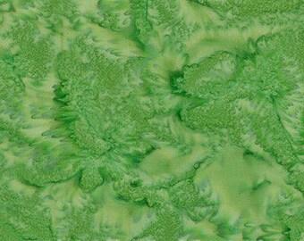 Hoffman Fabrics Watercolors Kelly Green 1895-354-Kelly Bali Batik Fabric