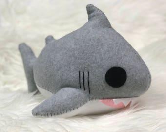 Heathered Gray Shark