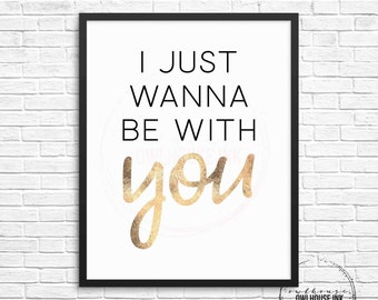 I Just Wanna To Be With You 8x10 Digital Print / High School Musical 3 / HSM3