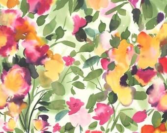 1 /2 Yard Dear Stella Flower Power Floral Wish 663