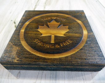 Man Cave Coasters * Chunky Coasters * Wooden Coasters * Personalized Coasters * Custom Wooden Coasters * Plywood ManCave Coasters