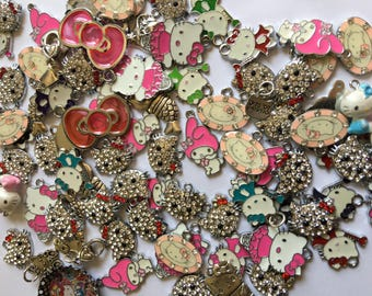 Charms Destash**  84 Hello Kitty charms