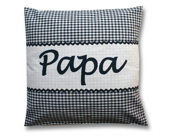 Cushion for the dad, name pillows, pillow with name, father's day