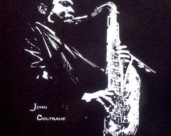 John Coltrane t shirt S, M, L, XL