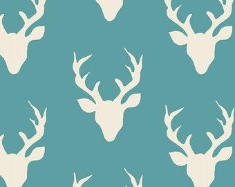 Hello Bear - Buck Forest Lake - Bonnie Christine - Art Gallery Fabrics (HBR-4434-10)