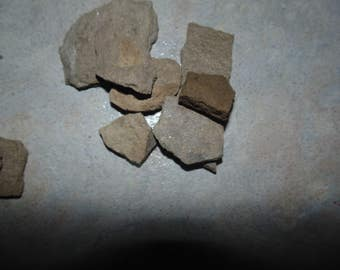 Small and Medium mixed flat rocks for Miniature Gardens and Terrariums/ Fairy