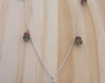 Silver Turmaline Necklace