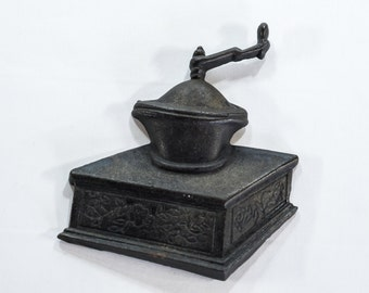 Vintage Cast Iron Coffee Grinder Wall Decoration
