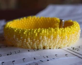 Fading Yellow Bracelet