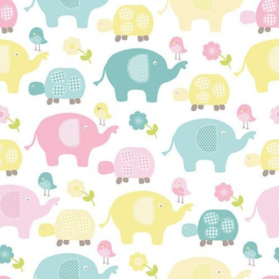 Elephant fabric baby fabric kids fabric novelty fabric for Kids novelty fabric