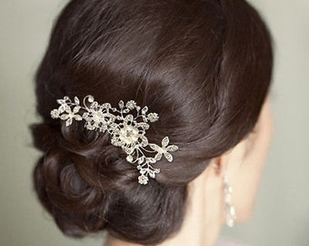 hair comb bridal crystal hair comb hair clip bridal hair accessories