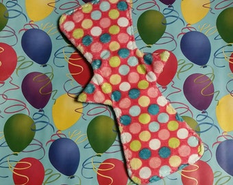 """RTS 12"""" Minky Topped Cloth Regular Pad With Wings"""
