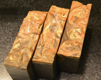 Handcrafted Frankincense & Myrrh Hemp Soap