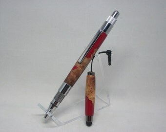 Red Mallee Burl Pen