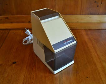 Ice Crusher Electric Vintage Rival