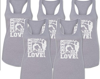 Cheer  Collage Tank