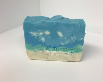 Beach  Soap / Artisan Soap / Handmade Soap / Soap / Cold Process Soap