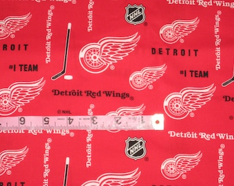 DETROIT RED WINGS Handmade 100% Cotton Window Curtain Valance