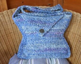 Handmade Crochet Chunky Shoulder Bag