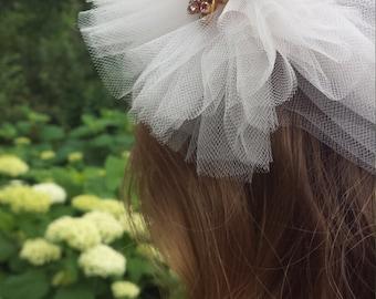 Vintage Style Tulle Headband