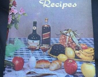 Vintage recipe folder-save your favourite recipes