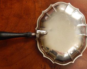 Vintage International Silver Chippendale Silent Butler!