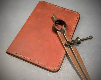 Leather Passport Cover - Passport Holder - Passport Wallet