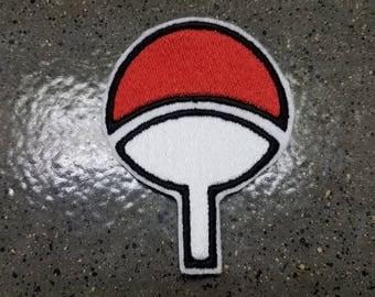 Naruto Uchiha Symbol Sew on Patch