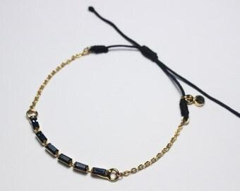 Swarovski Crystal Bracelet, Delicate Swarovski Bracelet, Elegant Crystal Bracelet