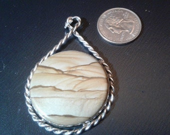 Picture Agate in Sterling Silver
