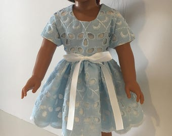 "Eyelet dress for 14.5"" doll"