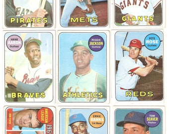 1969 Topps Complete Set G-EX