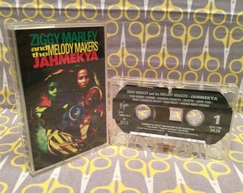 Jahmekya by Ziggy Marley and the Melody Makers Cassette Tape reggae