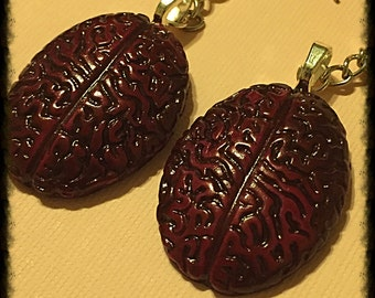 Bloody Brains Earrings set